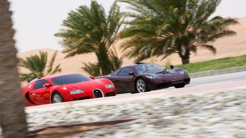 McLaren F1 i Bugatti Veyron
