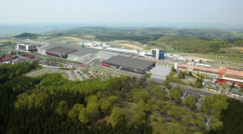 Nurburg - tu się je, śpi i oddycha Ringiem i ogólnie motosportem.