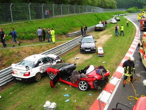 Wypadek na Nordschleife