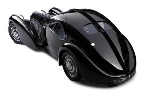 Bugatti Atlantic - inspiracja nie tylko dla zegarka, ale i dla nowej limuzyny Bugatti. Wiesz jakiej?